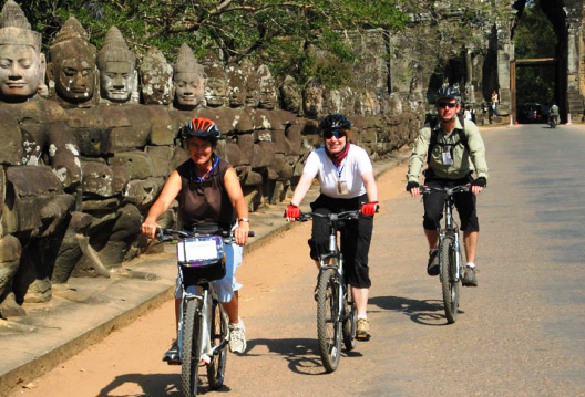 Biking Tour Siem Reap, Cambodia