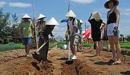 Hoian Cycling, Farming, Cooking